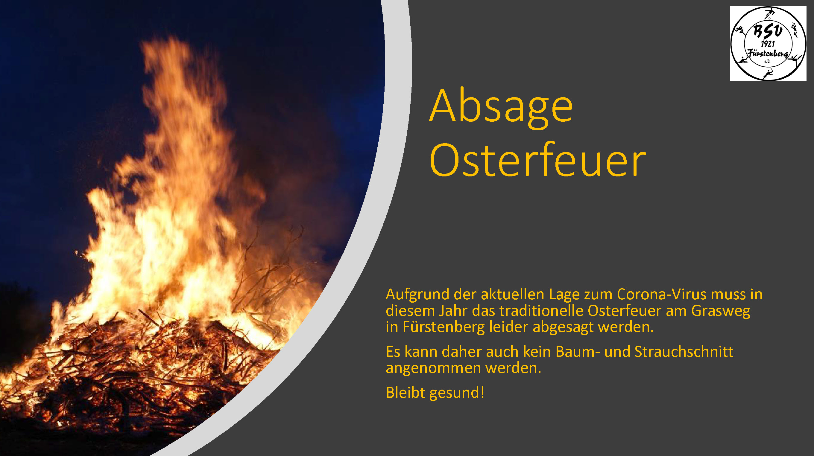AbsageOsterfeuer